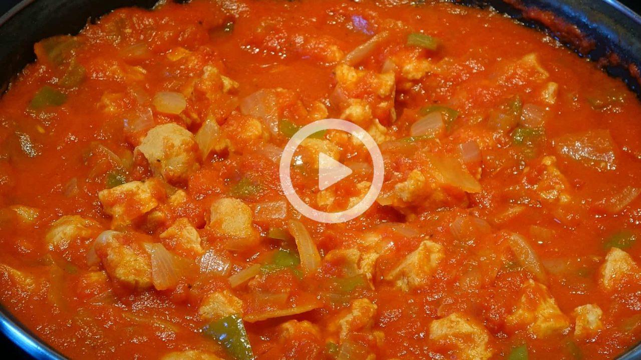 Carne con tomate Boton de play