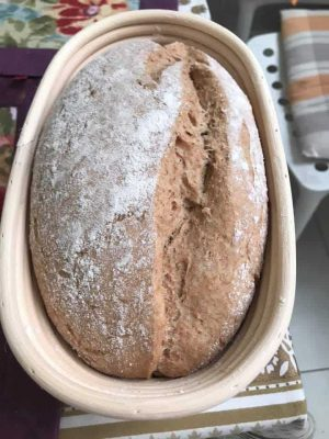 Pan en banetton de ratán de Tatiana Leal